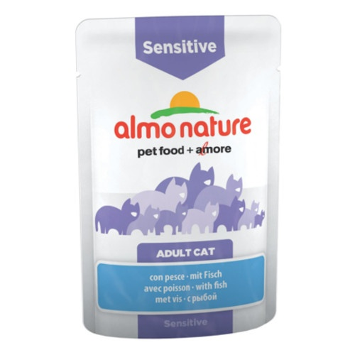 Almo Nature Sensitive peixe para gatos