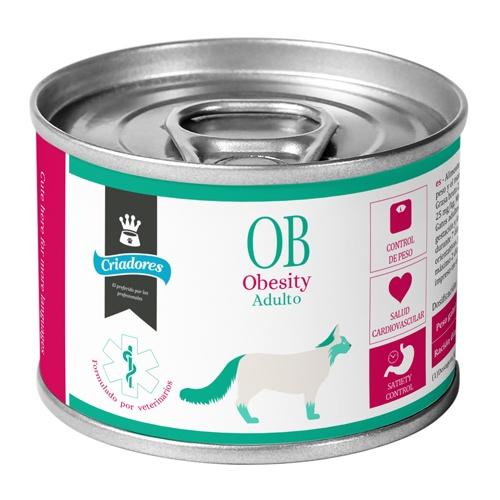 Alimento húmido Criadores Dietetic Obesity para gatos