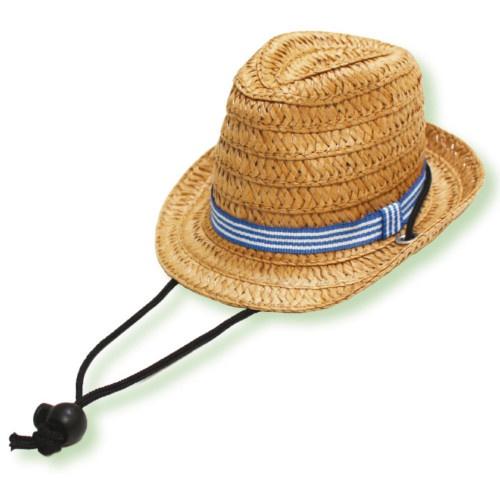 Chapéu de palha para cães