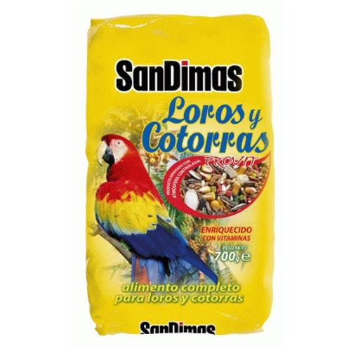 Comida para papagaios e catorras SanDimas