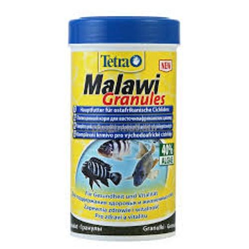 Tetra Malawi alimento em grânulos