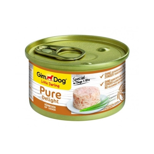 Comida húmida GimDog Pure Delight frango