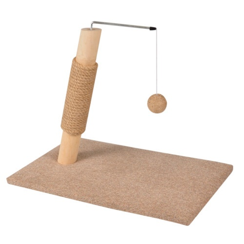 Poste arranhador Scandi Basic com brinquedo