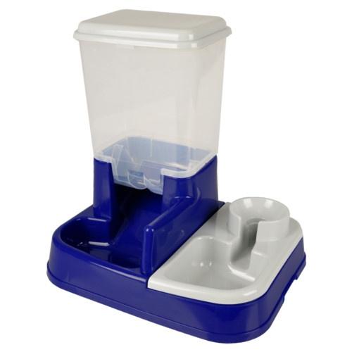 Dispensador duplo para comida e água