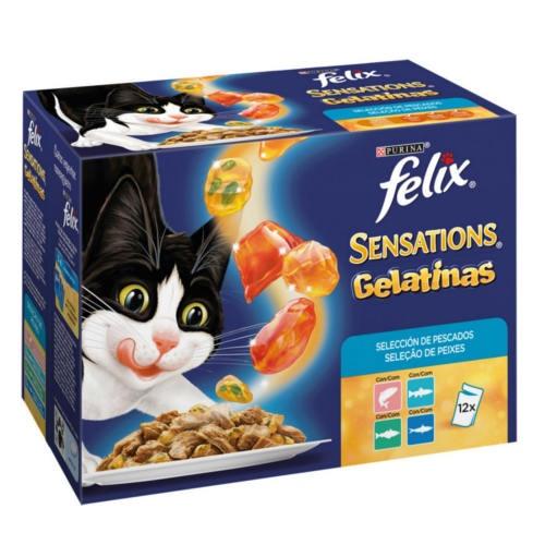 Felix Sensations Gelatinas Multipack de peixes