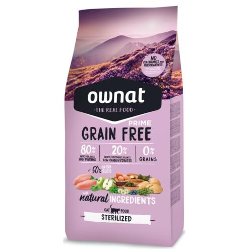 Ração Ownat Grain Free Sterilized