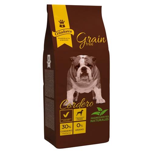 Ração Criadores Grain Free Cordeiro raças médias e grandes