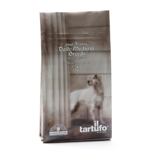 Ração Il Tartufo Daily para cães de raça média