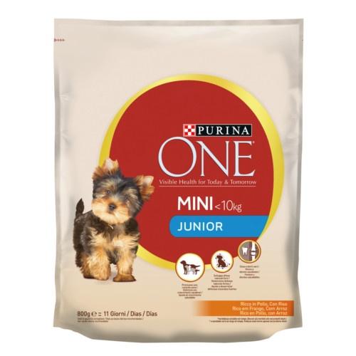 Ração Purina One Mini Junior Frango e arroz