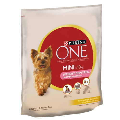 Ração Purina One Mini Controlo do peso Peru