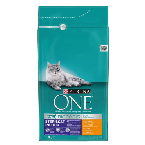 Ração Purina One Sterilcat Indoor Frango