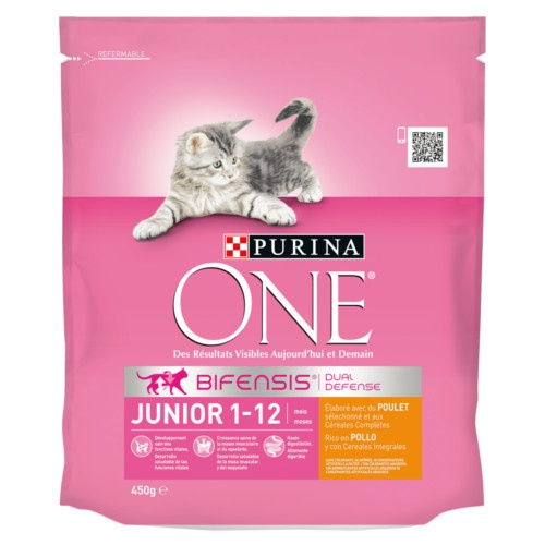 Ração Purina One Junior Frango
