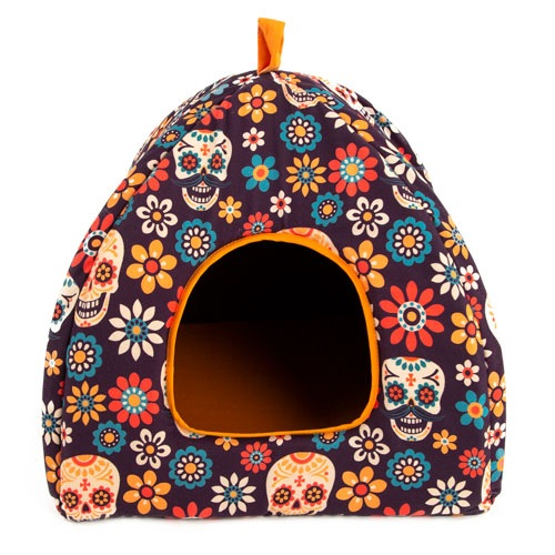 Cama iglu para cães e gatos TK-Pet Mex Party