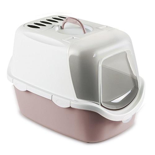 Bandeja sanitária Easy Clean cor-de-rosa