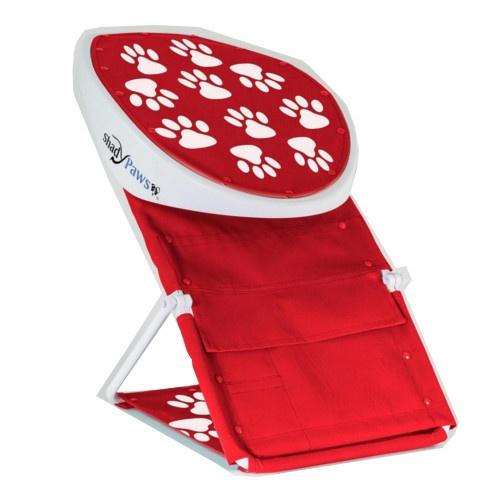 Toldo portátil para cães vermelho