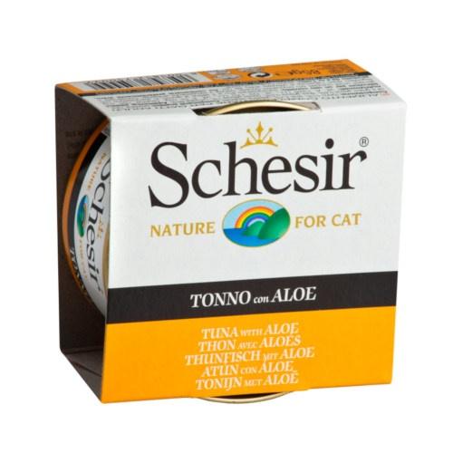 Comida húmida Schesir atum com aloe