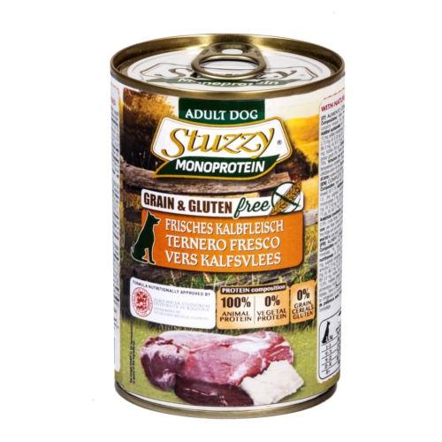 Comida húmida Stuzzy Monoprotein vitela fresca