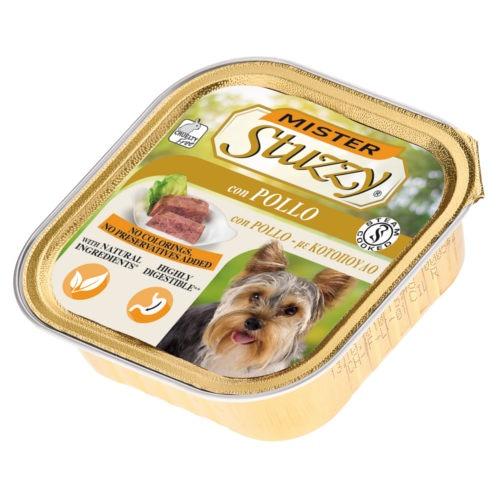 Comida húmida para cães Mister Stuzzy frango