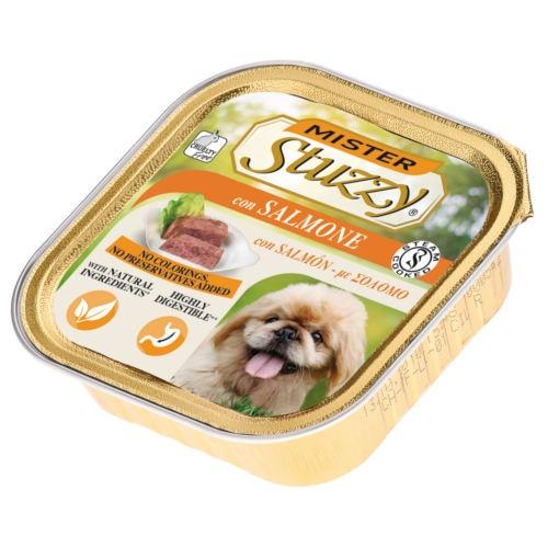 Comida húmida para cães Mister Stuzzy salmão