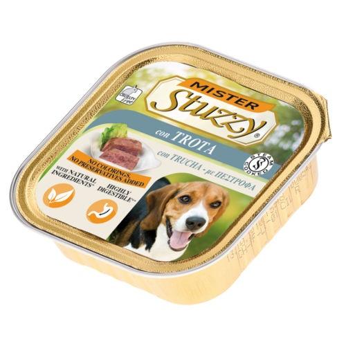 Comida húmida para cães Mister Stuzzy truta