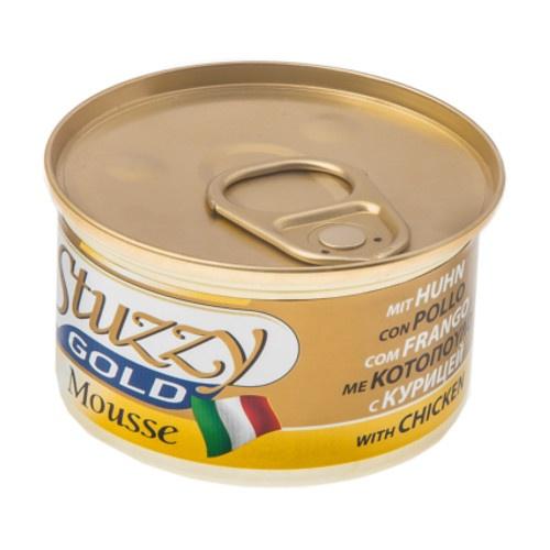 Comida húmida Stuzzy Gold Mousse frango com fígado