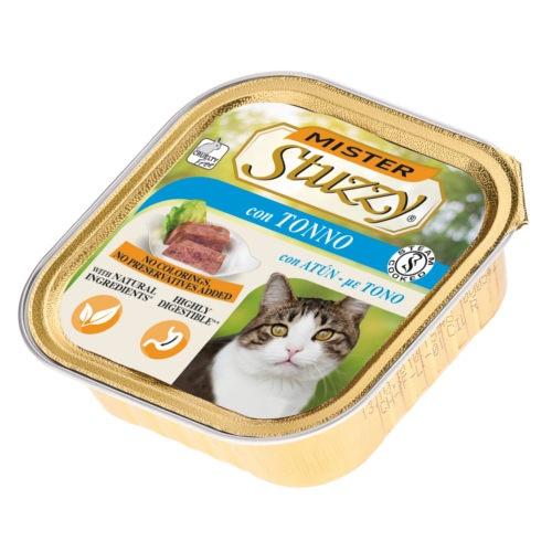 Comida húmida para gatos Mister Stuzzy atum