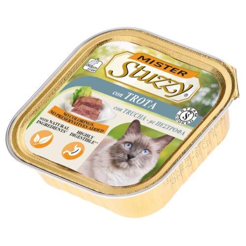 Comida húmida para gatos Mister Stuzzy truta