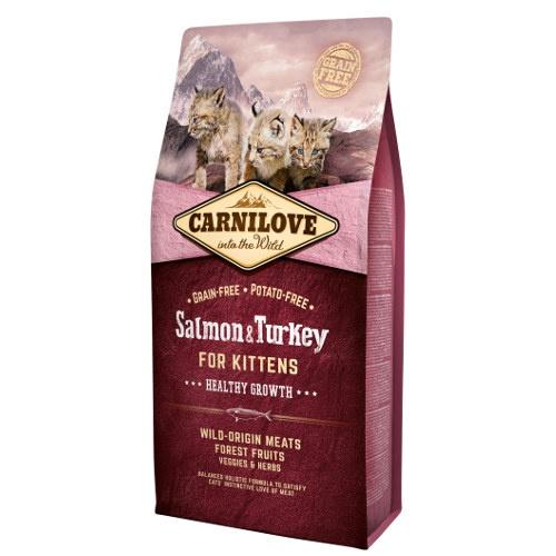 Ração Carnilove Salmon & Turkey para gatinhos