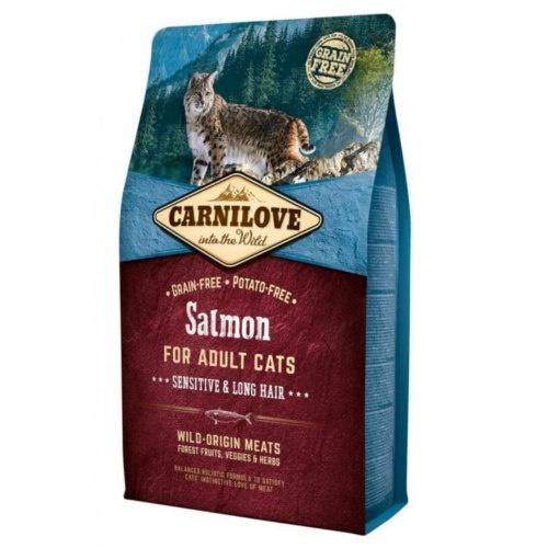 Ração Carnilove Salmon Sensitive para gatos