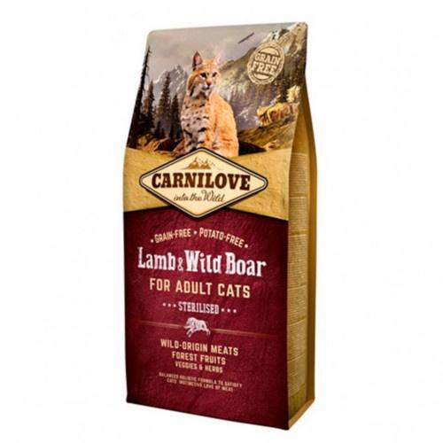 Ração Carnilove Lamb & Wild Boar Sterilised