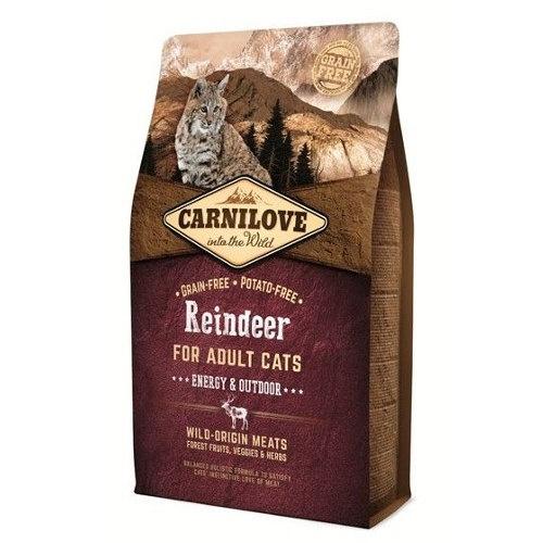 Ração Carnilove Reindeer Energy para gatos