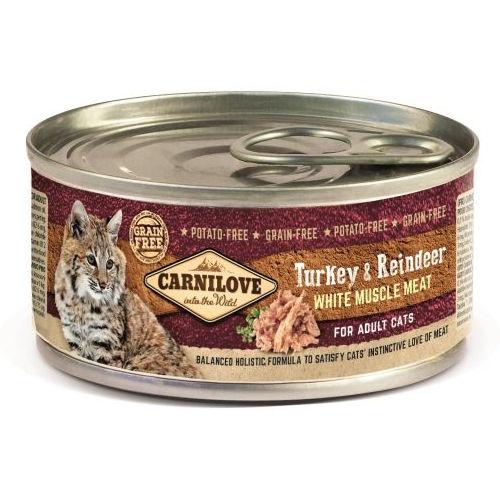 Comida húmida Carnilove Turkey & Reindeer