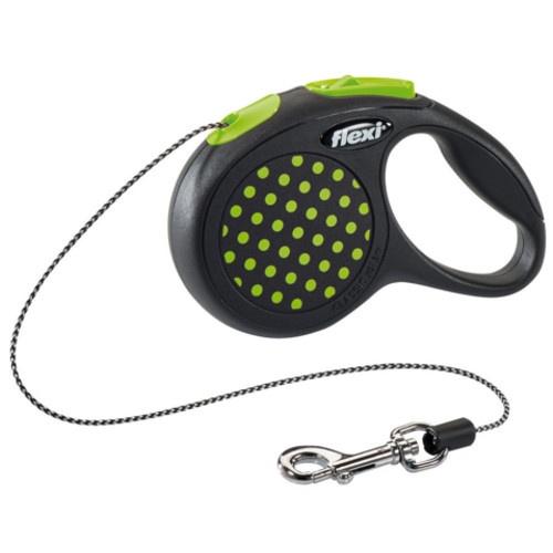 Flexi Design trela extensível verde