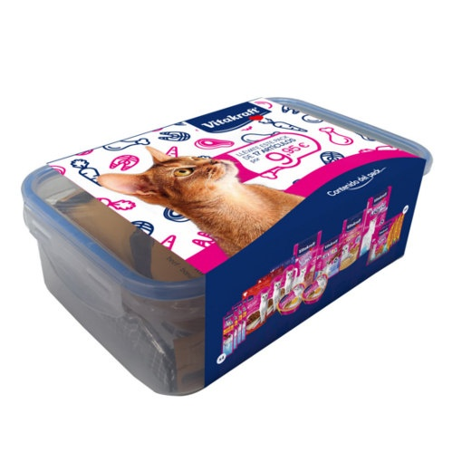 Tupper Vitakraft multipack de snacks para gatos