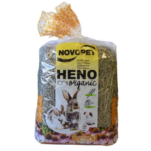 Feno com cenoura Novopet