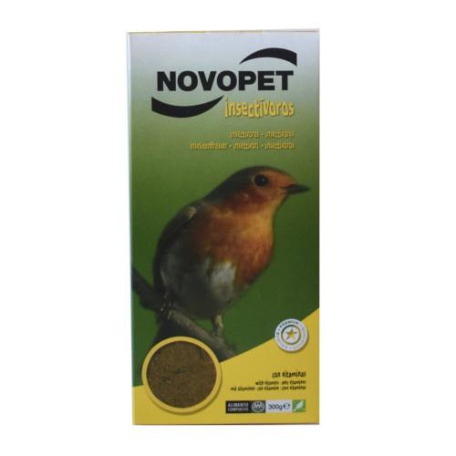 Alimento para pássaros insetívoros Novopet