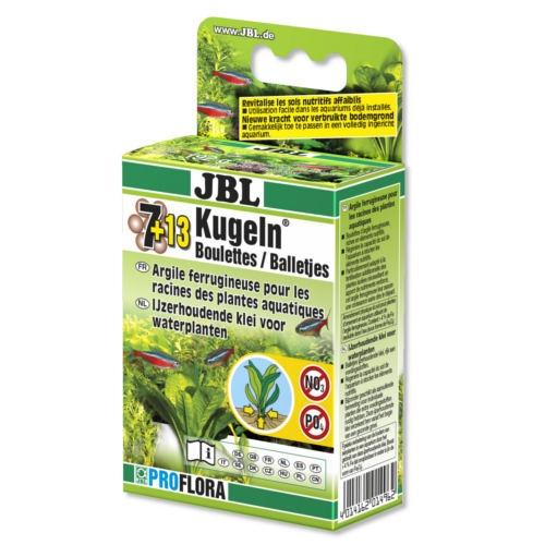 Fertilizante plantas aquáticas JBL 7 13 Kugeln
