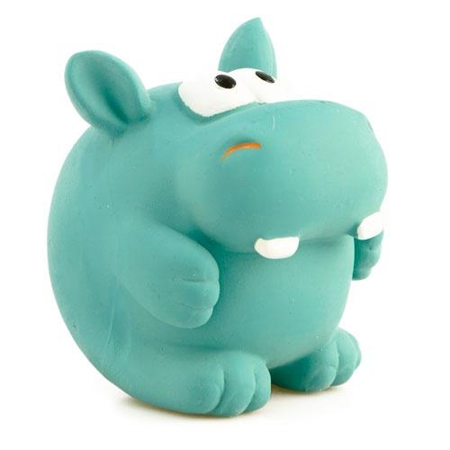 Brinquedo de látex TK-Pet Hipopótamo