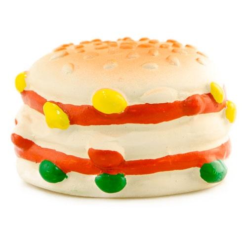 Brinquedo de látex TK-Pet Burger