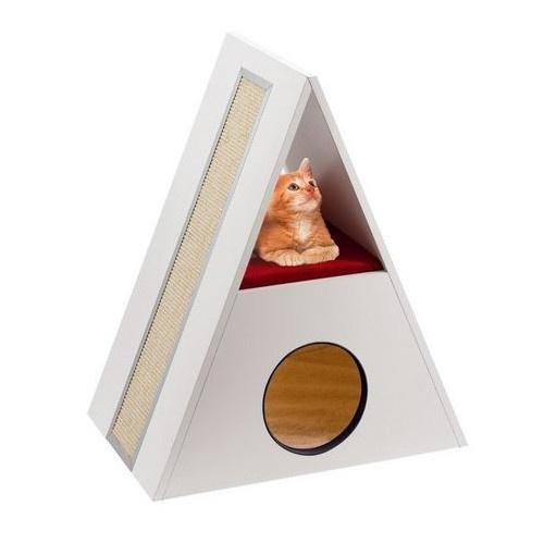 Arranhador pirâmide Merling
