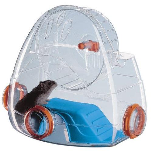 Área de exercício modular para hamster