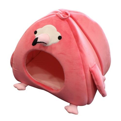 Cama iglu Flamingo para cães e gatos