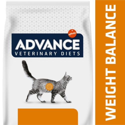Ração Advance Weight Balance para gatos