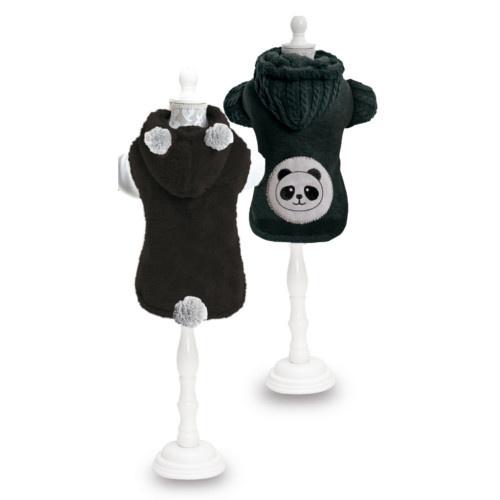 Camisola reversível Panda para cães