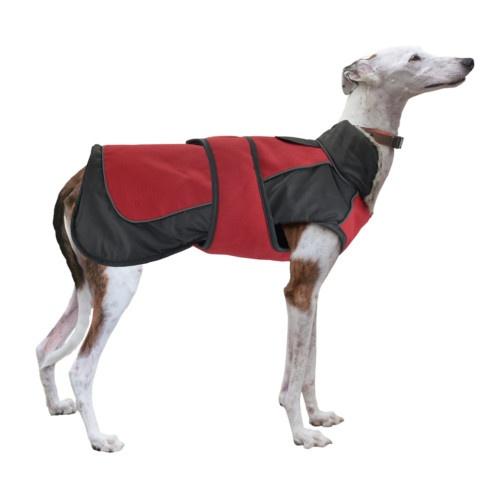 Impermeável para cães X-Trek vermelho