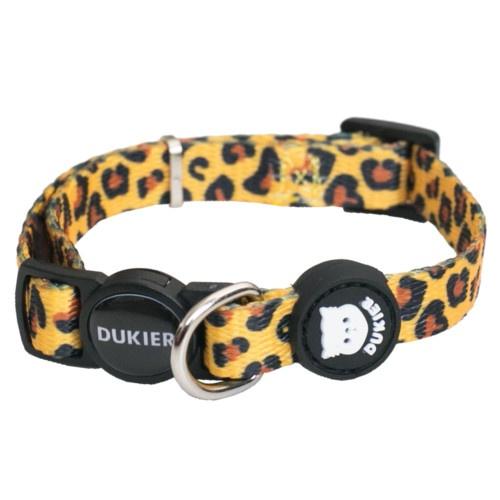 Coleira Dukier Animal Print para gatos