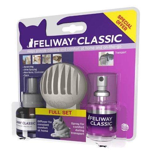 Kit de iniciação Feliway Difusor e Spray