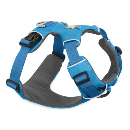 Peitoral Ruffwear Front Range para cães azul