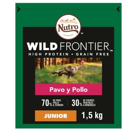 Nutro Wild Frontier Junior Peru e Frango