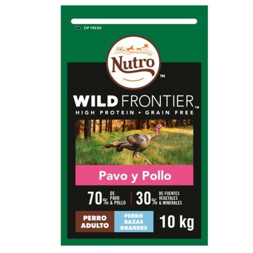 Nutro Wild Frontier Adult Large Peru e Frango